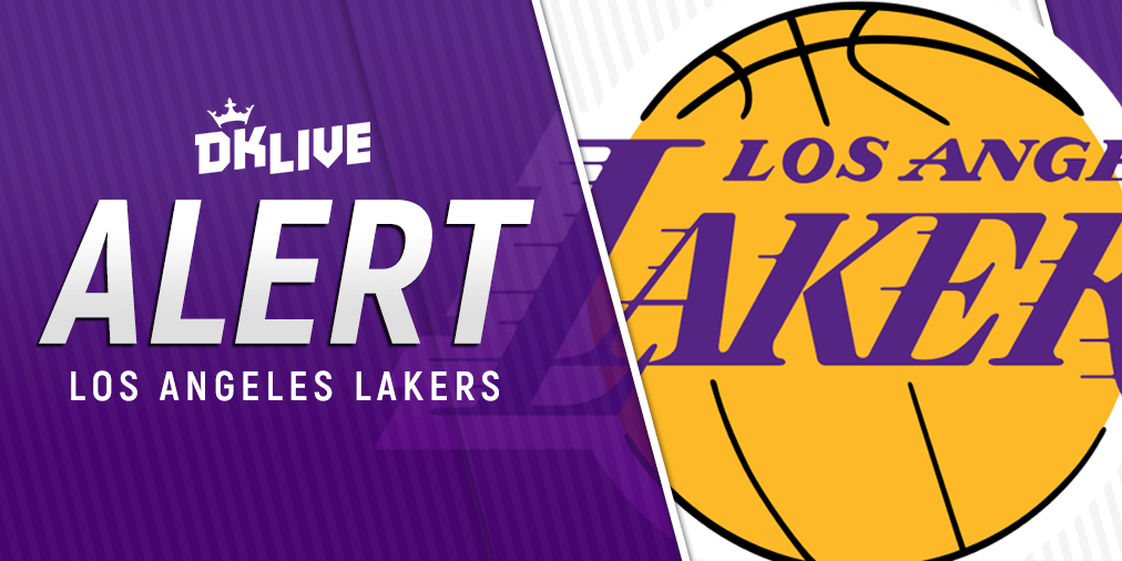 NBA LINEUP ALERT: Lakers PF/C Anthony Davis (glute) and PG Rajon Rondo (finger) are listed as probable for Wednesday's game vs. the Knicks. #LakeShow #NewYorkForever