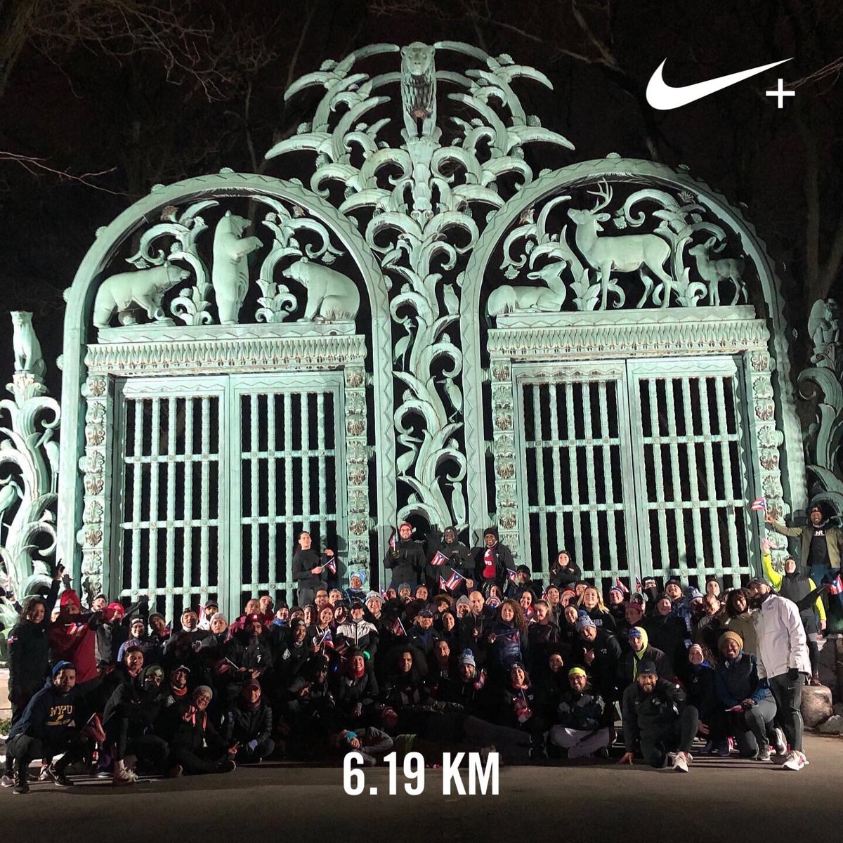 Run for Puerto Rico with all the BRonx squads!!!  #justdoit ⁦@Nike⁩ #nikeplus #nrc #nikenyc #urbex #neverstopexploring<br>http://pic.twitter.com/7fM42p6RKC