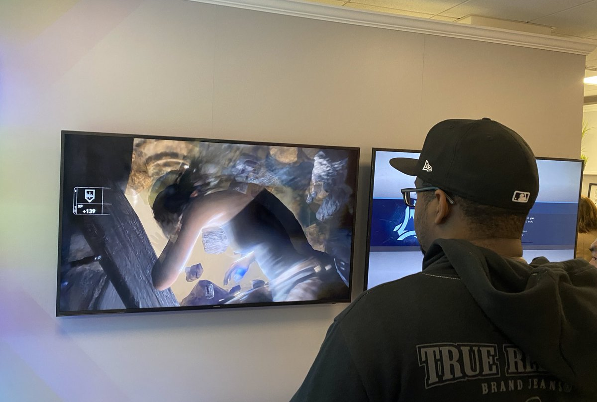 . @JMillionNYC playin Rise of the Tomb Raider on Google Stadia #VzwConnectedHome #VerizonFios --pic.twitter.com/dCl4Egx1rh