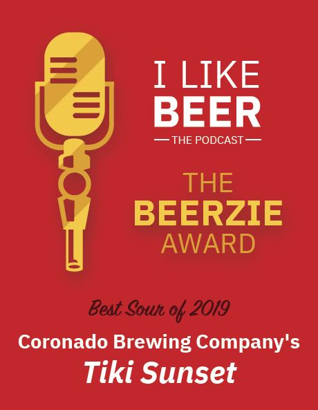 And the BEERZIE goes to...@CoronadoBrewing ! Congratulations to our friends Rick, Mark and the rest of the Coronado Brewing team! If we had an award for best pretzel, you'd win that too! #sdbeer #craftbeer #indiebeer #drinklocal #beerme #drinkcraftbeer #beerstagram #beerpodcastpic.twitter.com/eQtTAVKvvH