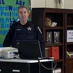 Image for the Tweet beginning: Thanks to Officer Veenstra from