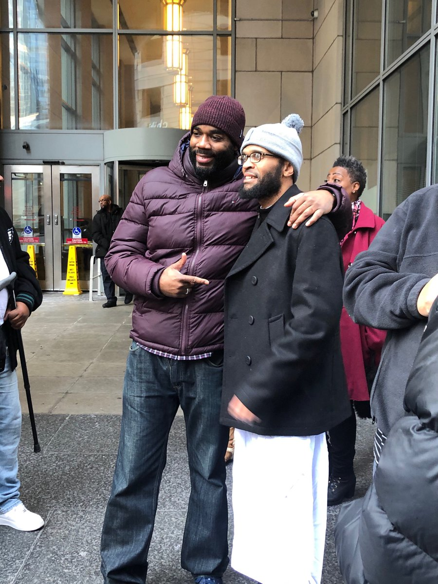 Photos from Theo Wilson's release today!