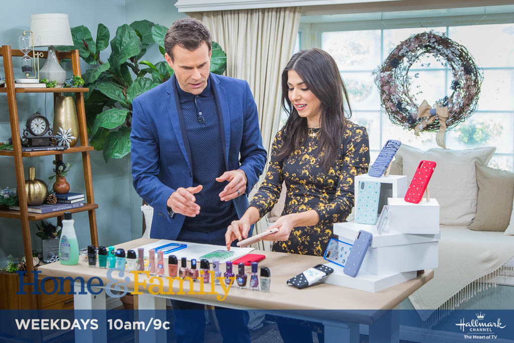 .@orlyshani adds some real polish to your phone case! Find out how TOMORROW at 10am/9c on @hallmarkchannel.