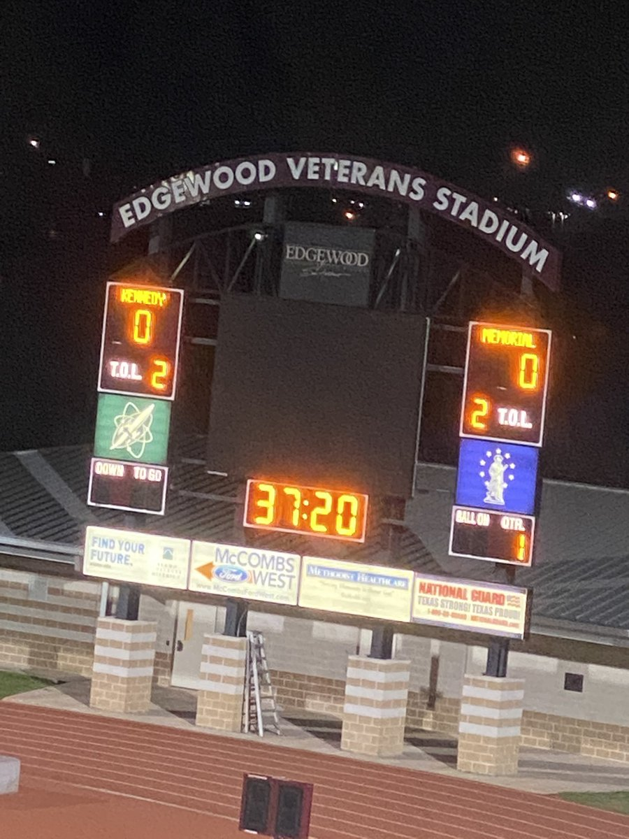 Admin duty   Come and support our ladies Minutemen! #MinutemenPride #EISDProud #SoccerTime pic.twitter.com/5rtUuulZi1 – at Edgewood Veterans Stadium