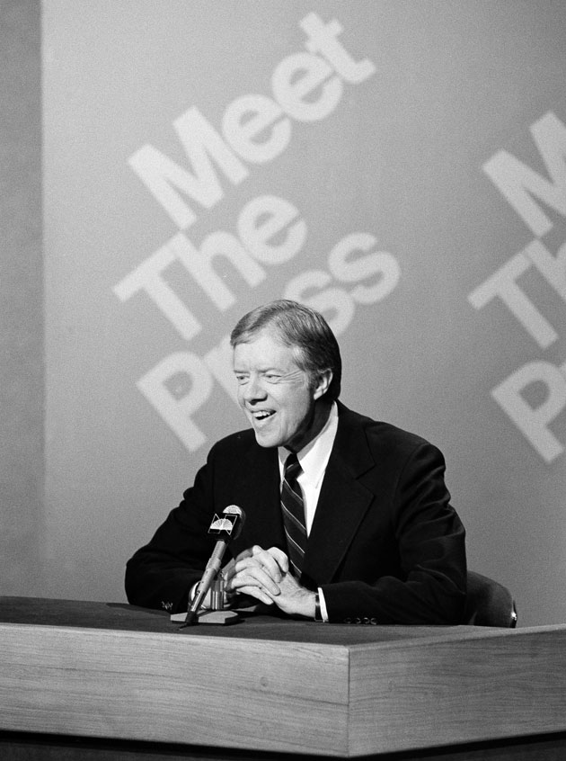 Appearing on#Sunday's @MeetThePress, President @CarterLibrary called on the U.S. Olympic Committee to boycott the #Moscow Summer Olympics on January 20, 1980. @nbc @nbcwashington @NBCNews