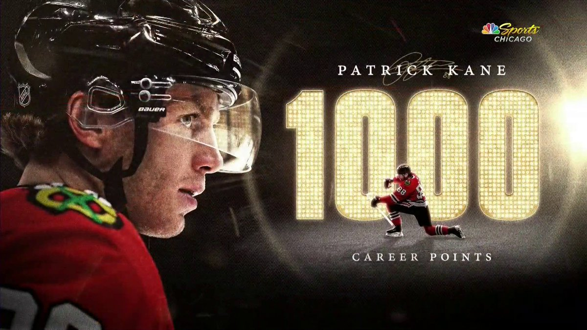 The entire UC is on their feet for Patrick Kane! #1Kane