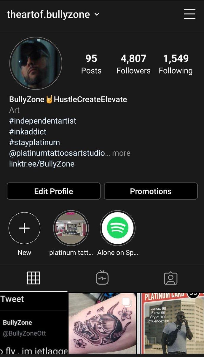 follow me on IG  . @theartof.bullyzone !!!! pic.twitter.com/04ZwxwJret