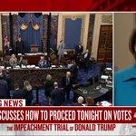 Image for the Tweet beginning: Live now on @MSNBC  Sen. Klobuchar