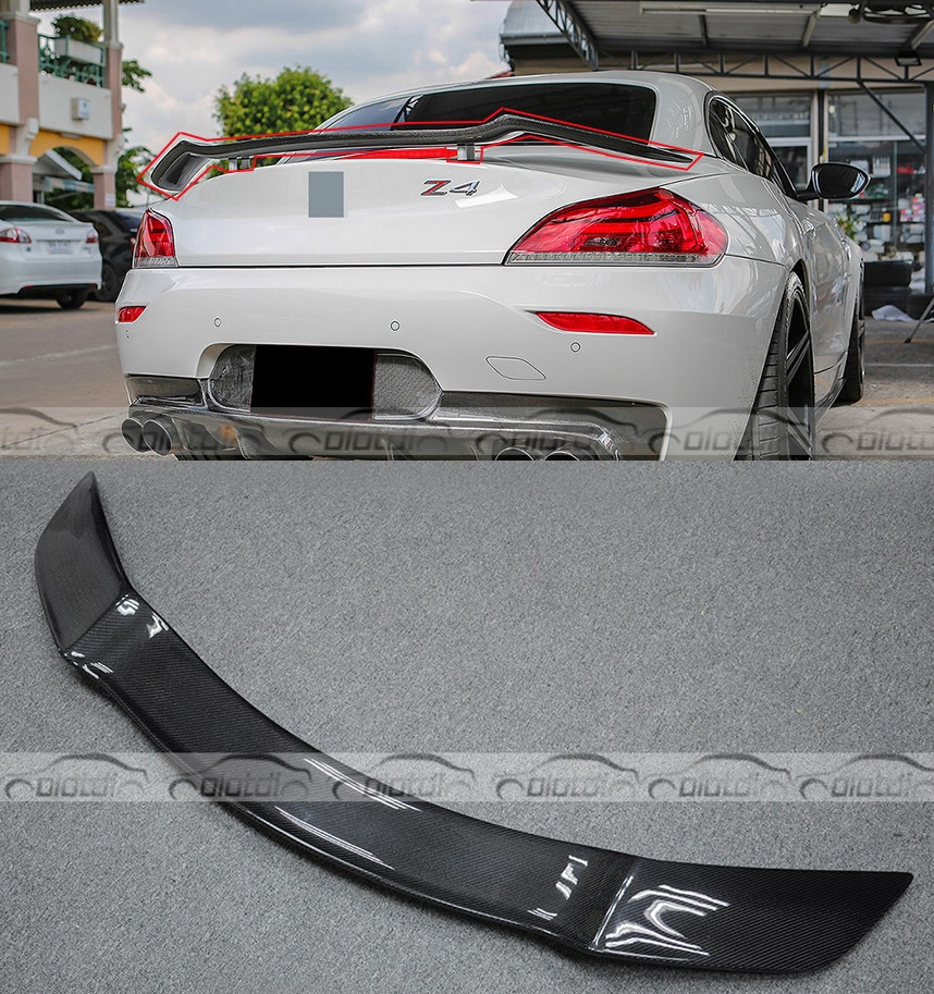 Carbon Fiber Front Bumper Splitters Flippers for BMW E89 Z4