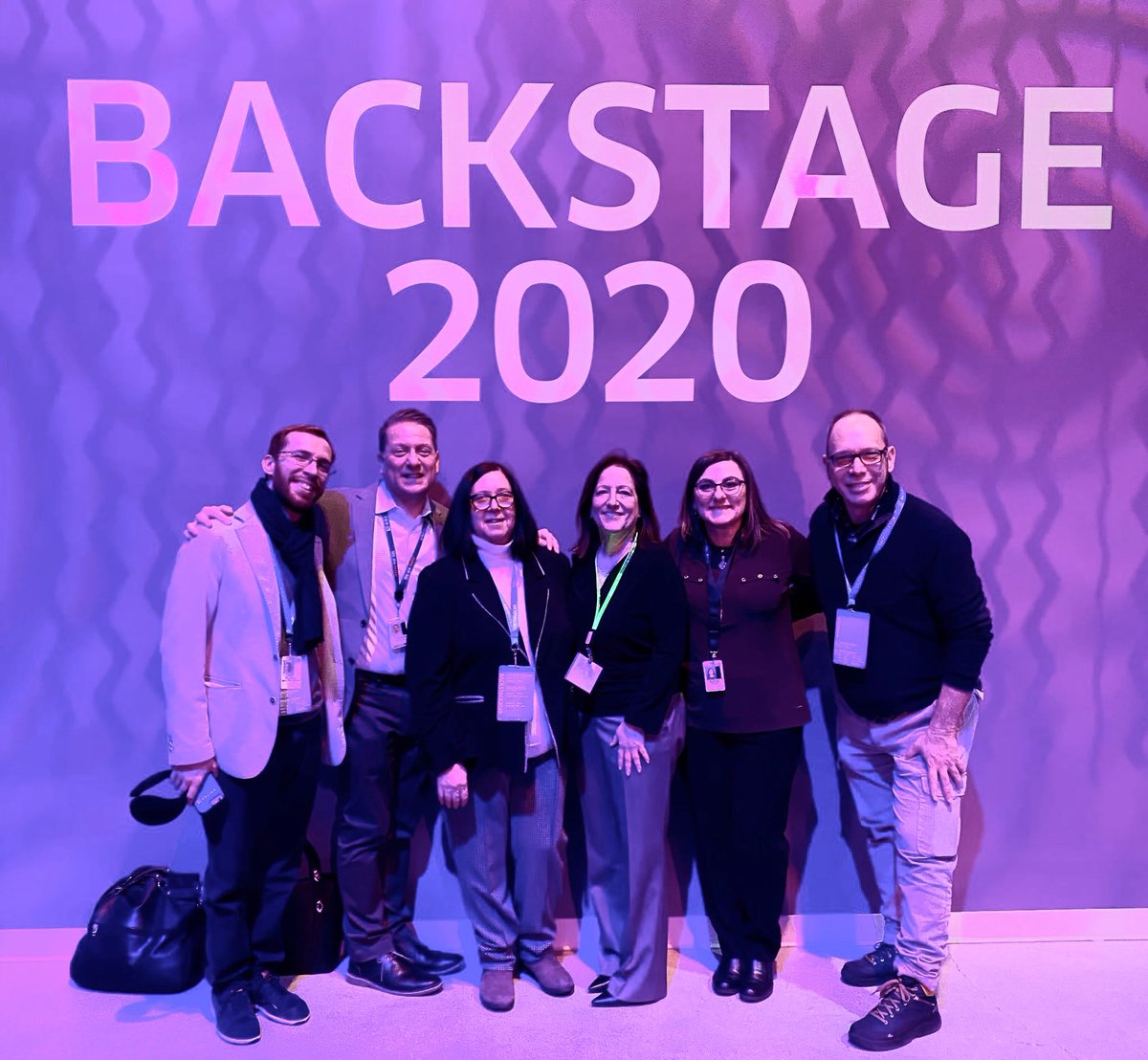 Backstage 2020 is where you want to be. Fun times catching up with old friends, opportunities to make new friends. @weareunited @JMRoitman @bcstoller_ual @Tobyatunited