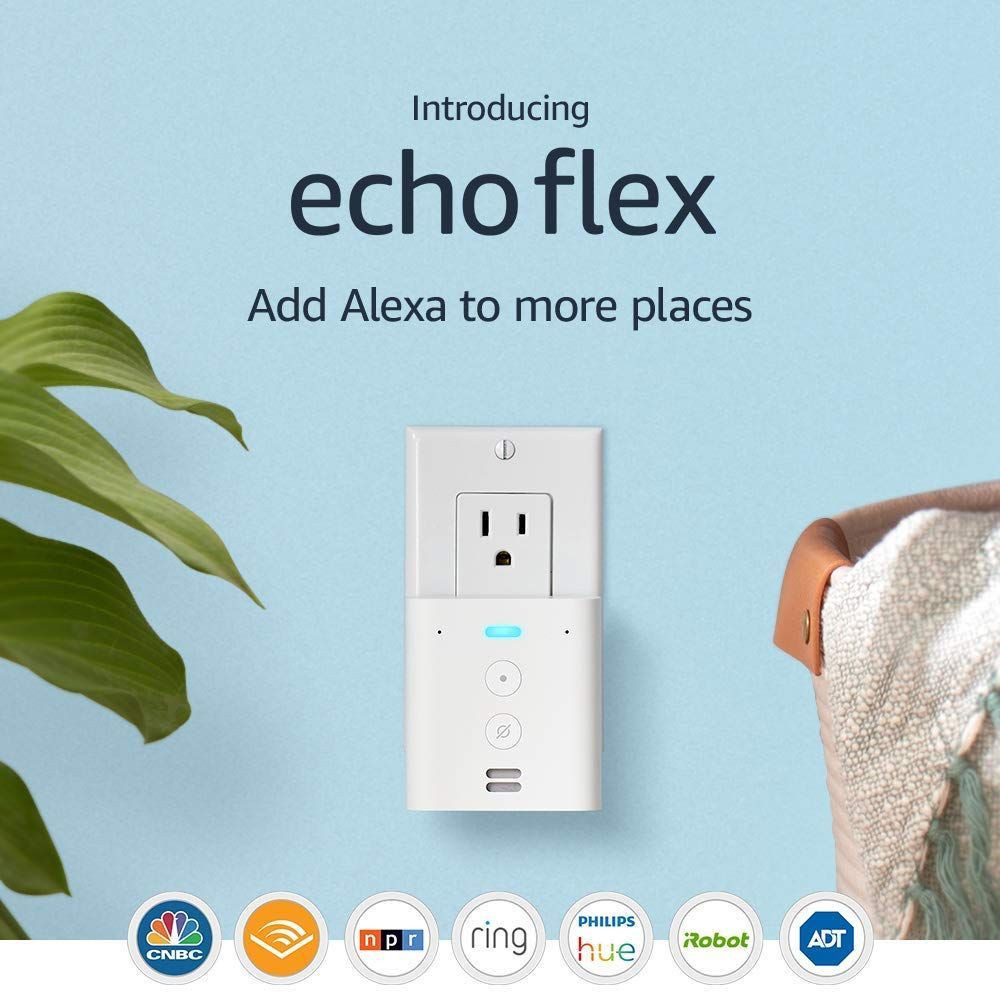 Introducing Echo Flex - Plug-in mini smart speaker with Alexa    $19.99 with Free Prime Shipping    #steals #deals #stealsanddeals