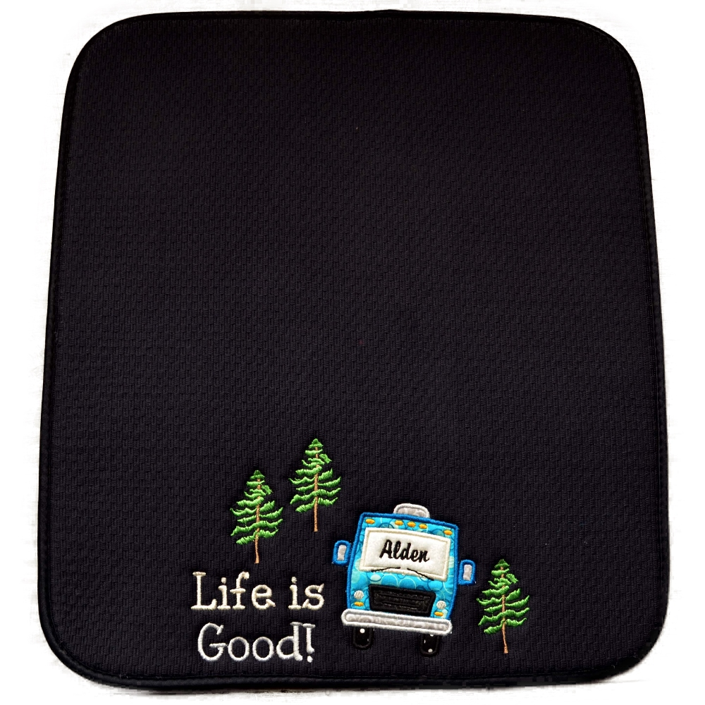 Personalized Xmas Gifts. Fun and practical. Camping and Coffee Gifts.  http:// NotMomsEmbroidery.etsy.com     &  http:// Amazon.com/handmade/Embro idery-Hut  …   Gifts, dish drying gifts, coffee mats, coffeepot mats, christmasgifts, Campinggifts, Holiday gifts, Xmas gifts, RV gifts, Camper gifts <br>http://pic.twitter.com/eXMQnzmMn9