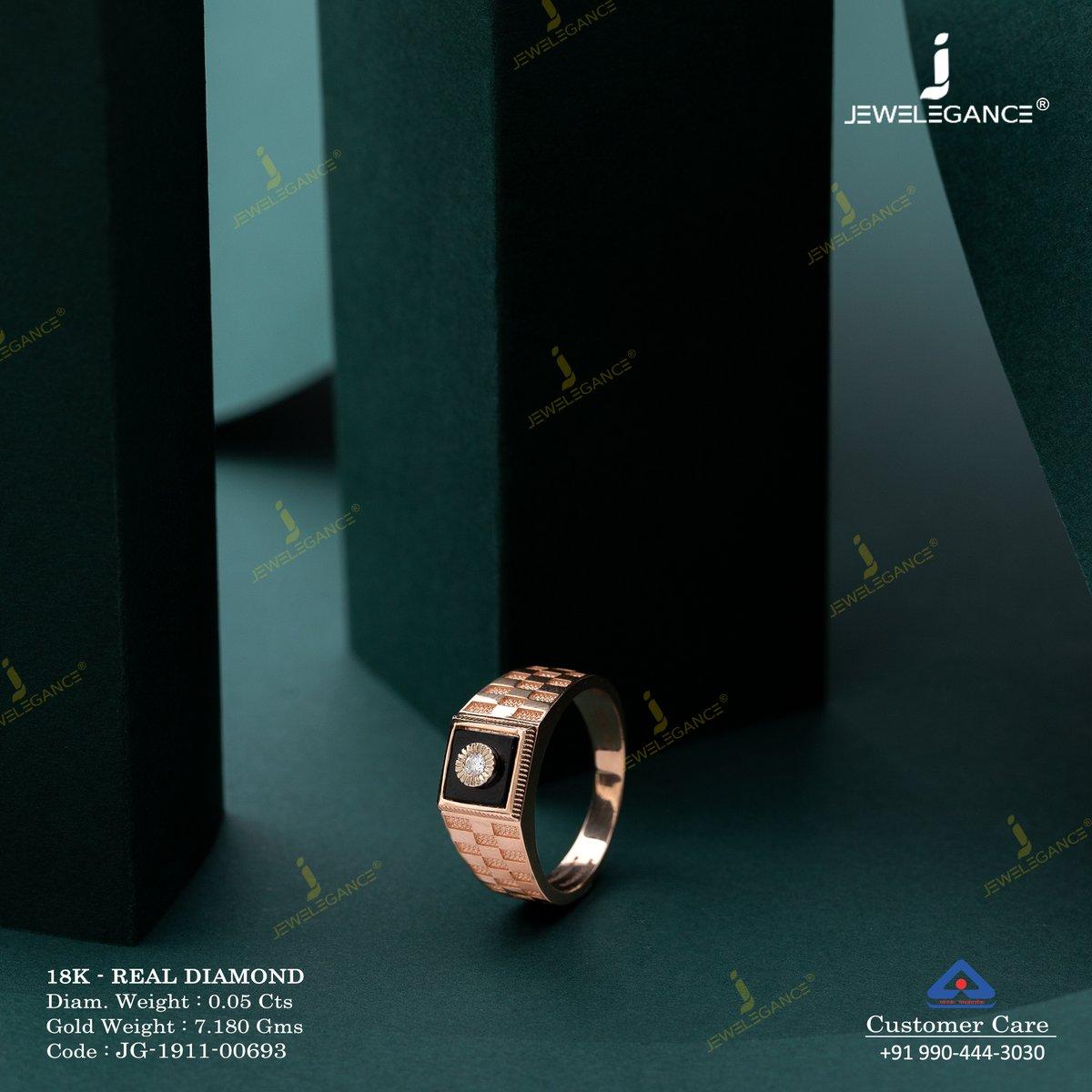 Make your bond special with diamond ring... . #Shop on: https://www.jewelegance.com/product-detail/3384… . #myjewelegance #goldjewellery #jewellery  #jotd  #ring  #goldring #engagementring #lastesttrend #ringoftheday #diamondring #lovefordiamonds #mensfashion #mensjewellerypic.twitter.com/K8UioEpSml