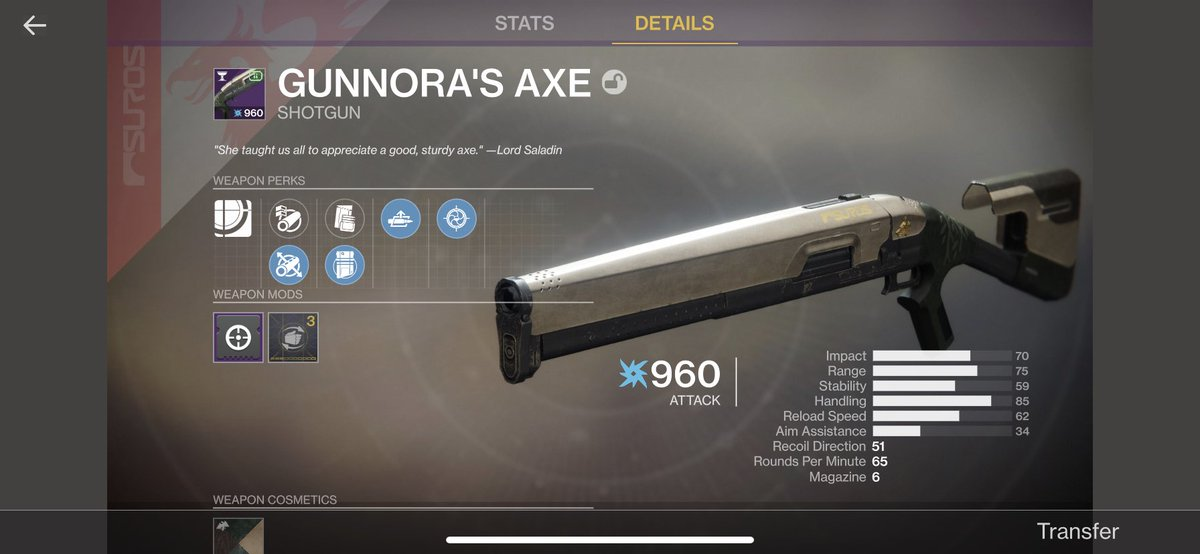 First drop of this week's Iron Banner was this crispy boi. #destiny2 #destiny #destiny2ps4 #bungie #ps4 #destiny2thegame #titanmasterracepic.twitter.com/p3Db78NG2O