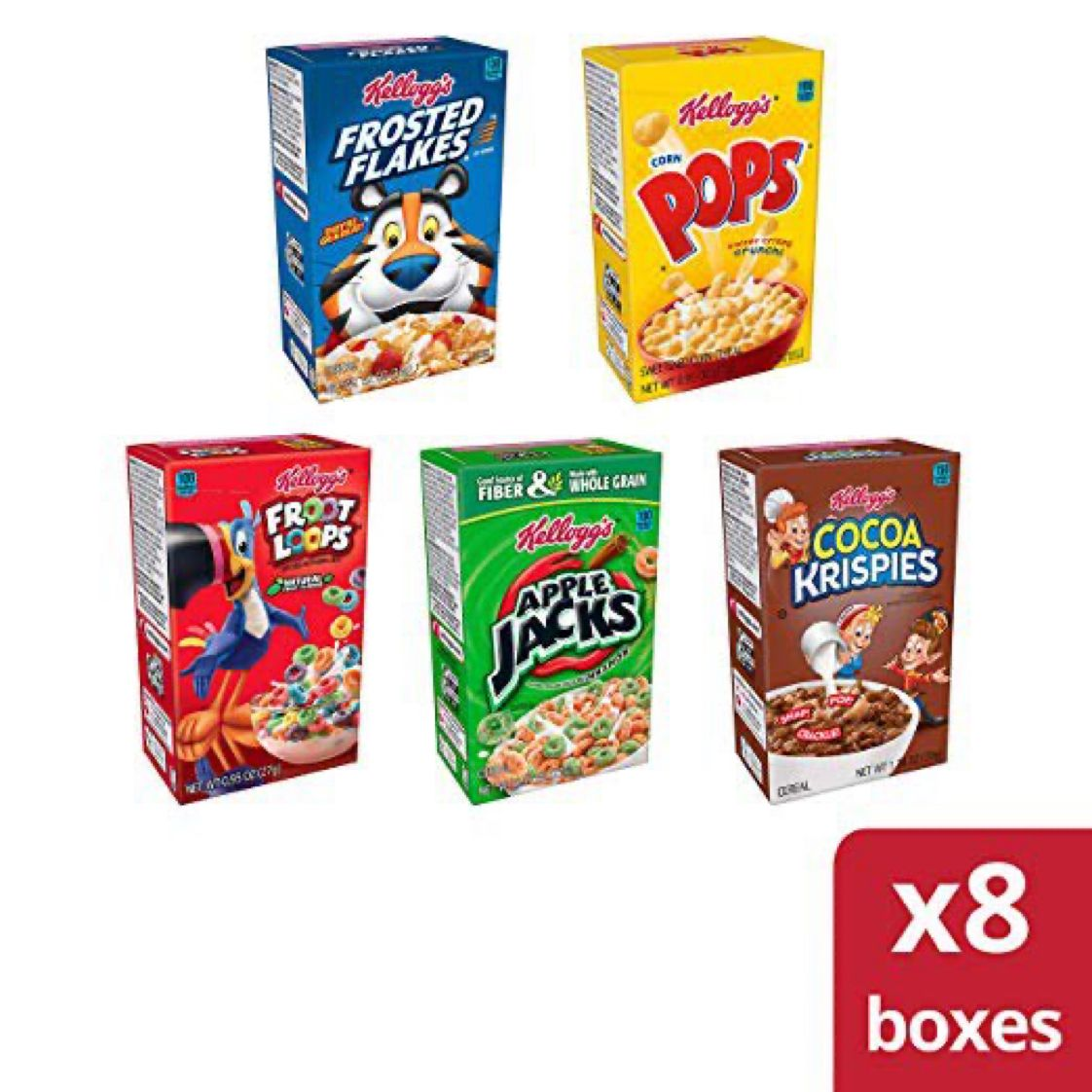 8 Boxes - Kellogg's Kids Cereal Fun Variety Pack  $2.98 with Free Prime Shipping   #steals #deals #stealsanddeals