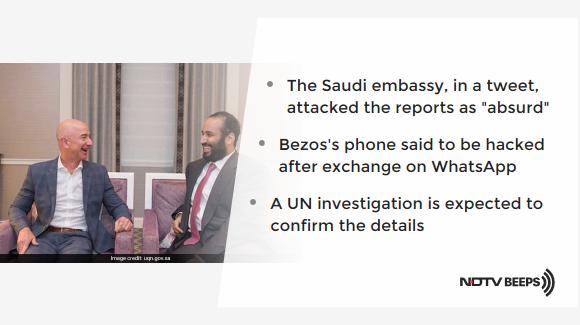 Saudi Crown Prince Hacked Jeff Bezos's Phone: Report https://www.ndtv.com/world-news/saudi-crown-prince-mohammed-bin-salman-hacked-jeff-bezoss-phone-report-2167707… #NDTVNewsBeeps
