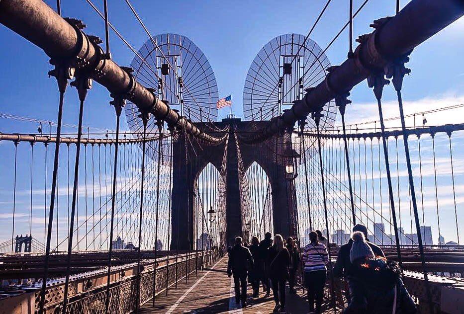 Brooklyn Bridge #NewYorkCity #NewYorj #Nyc #BrooklynBridge #Photography #StreetPhotography #Photo #StreetPhoto #Onthestreet #PhotoOfTheDay @nycfeelings