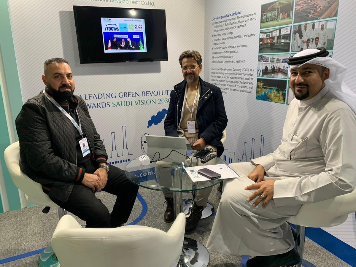 #EDCO presence in the largest future energy and sustainability event in middle east, the Would Future Energy Summit in Abu Dhabi. #WFES 2020 pic.twitter.com/IHbawkMOTm