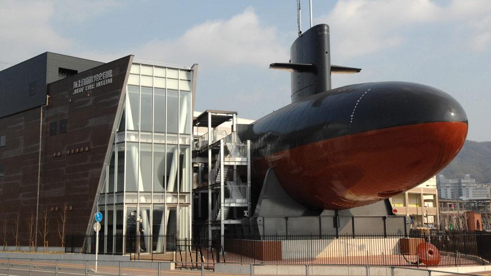 呉カレーを食べたらやっぱり、由来の海上自衛隊呉資料館へ行かねば!日本で唯一、実物の潜水艦が展示されてているんだそう  ▼広島の #旅館 #ホテル 一覧   #広島 #hiroshima #温泉 #onsen #hotspring #JapanRailPass #トレたび