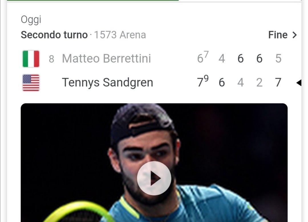 #Berrettini