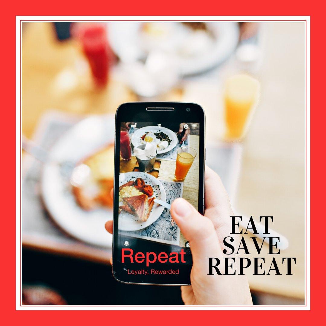 EAT SAVE REPEAT at UAE's Best Restaurants ! Loyalty Rewarded  #CustomerLoyalty#LoyaltyApp#Rewards#EatSaveRepeat#dubaieats#uaerestaurants#dubaifoodie#uaefoodie#lovedubai#uaefood#dubaieats#loyaltyrewards#yum#instagoodfood#dubairestaurants#foodies#foodgrampic.twitter.com/LjzDq54rew