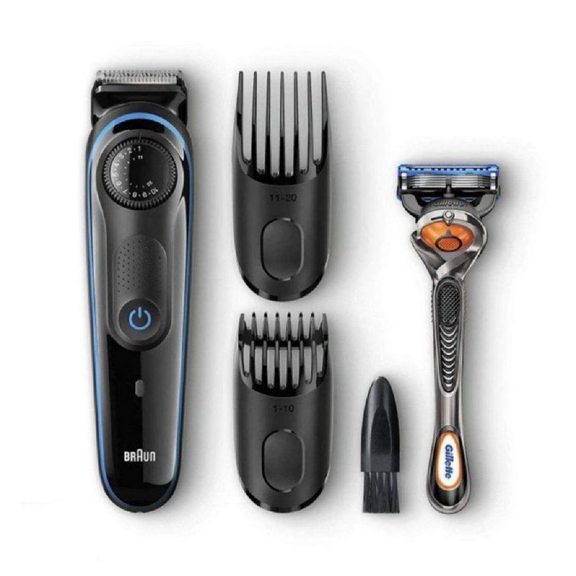 Braun Beard Trimmer for Men, Cordless Hair Clipper, with Gillette ProGlide Razor  $20.99 with Free Prime Shipping    #steals #deals #stealsanddeals