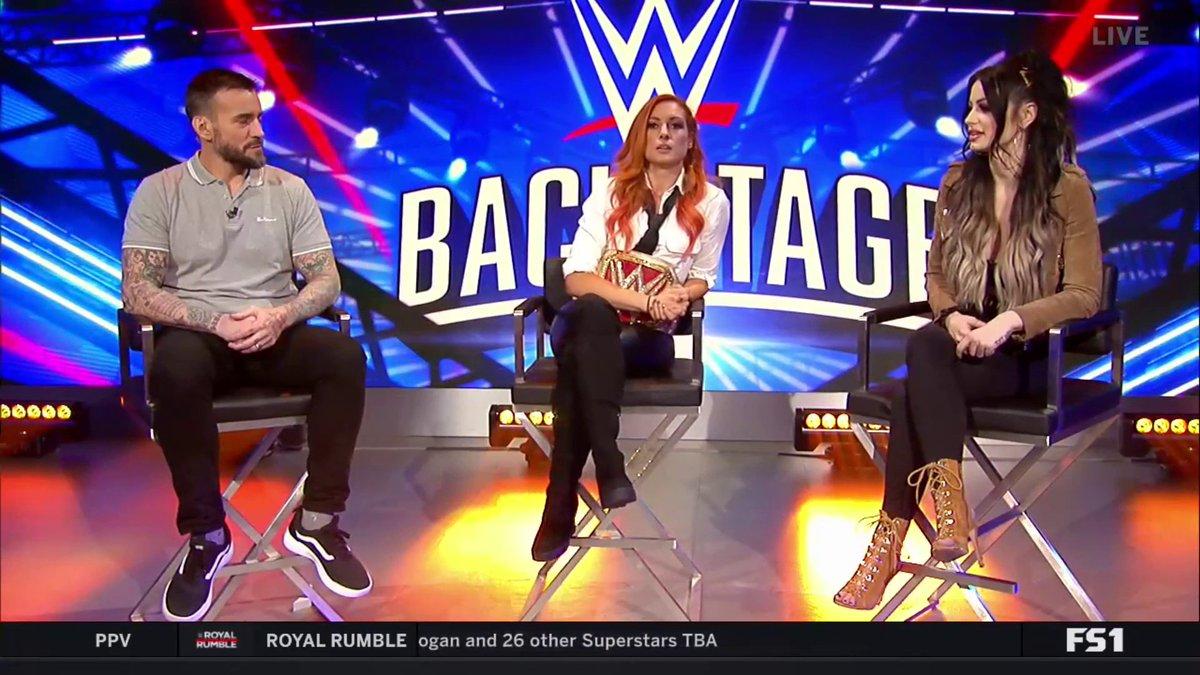 @WWEonFOX's photo on #wwebackstage
