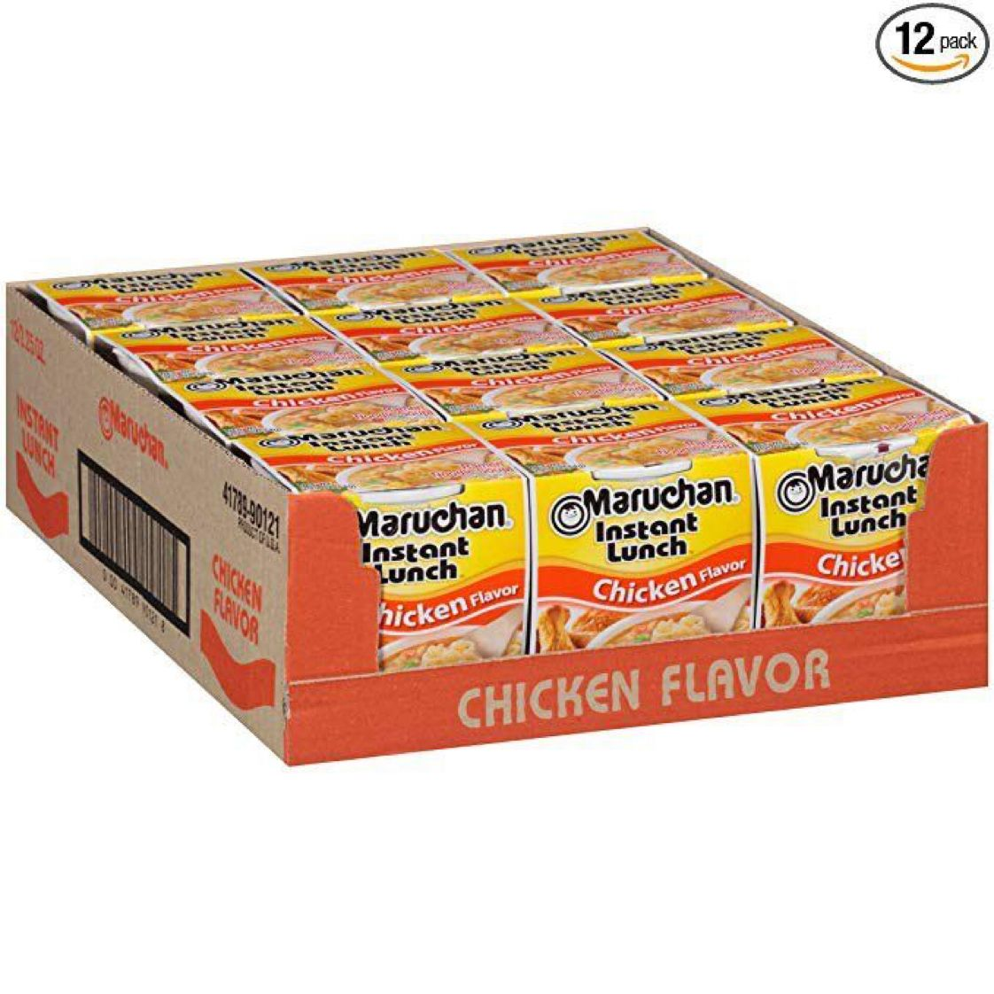 Maruchan Instant Lunch Chicken Flavor, 2.25 Ounce (Pack of 12)  $3.84 with Free Prime Shipping   #steals #deals #stealsanddeals