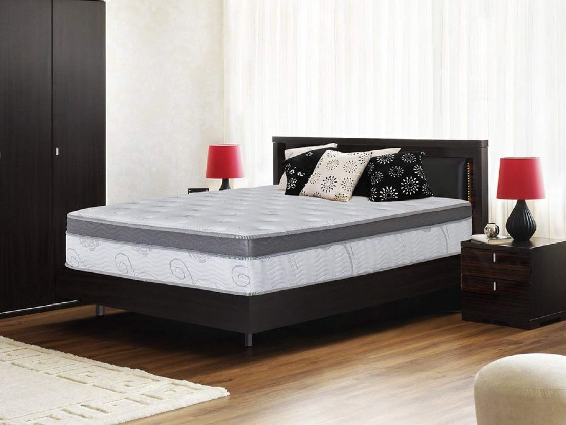 Olee Sleep 13 inch Galaxy Hybrid Gel Infused Memory Foam and Pocket Spring Mattress (Queen)   $185.95 with Free Prime Shipping    #steals #deals #stealsanddeals