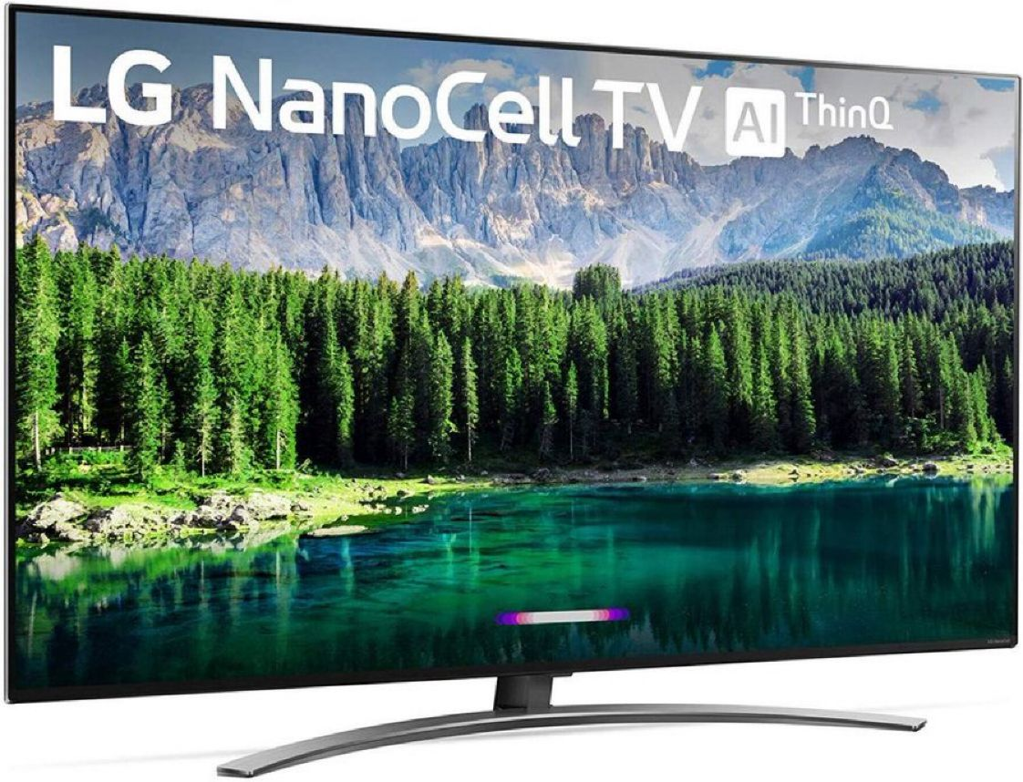 """LG Nano 8 Series 55"""" 4K Ultra HD Smart LED NanoCell TV (2019)   $596.99 with Free Prime Shipping   #steals #deals #stealsanddeals"""