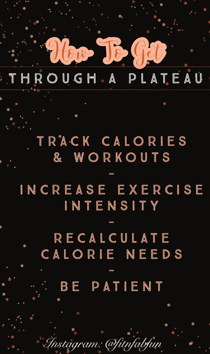 Fitness journeys and progress is not linear. Sometimes you fall off the wagon or feel like you aren't getting the results you want. Here's some ways to break through the barrier and keep on keeping on! 😜
