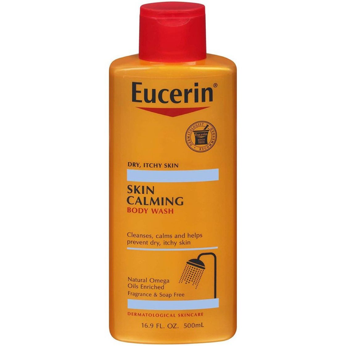 Eucerin Skin Calming Body Wash - Cleanses and Calms to Help Prevent Dry, Itchy Skin   $5.45 with Free Prime Shipping    #steals #deals #stealsanddeals
