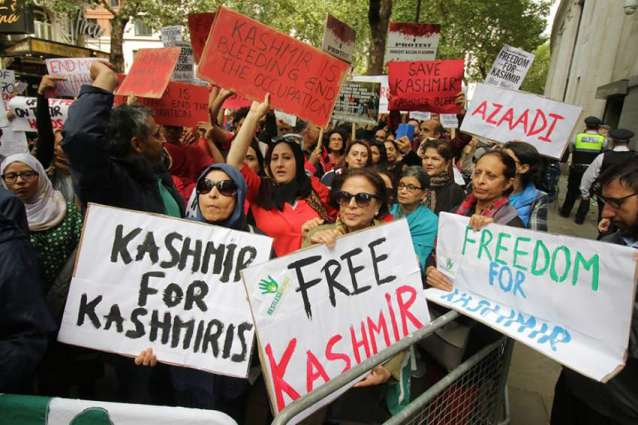 For how long more will the helpless Kashmiris suffer for nothing under the atrocities of €nd!an tr00ps??  Demanding their right to self determination is the sole crime of kashmiris.  @UN @amnesty   #171DaysOfKashmirSiege <br>http://pic.twitter.com/gtJUS9p6Qs