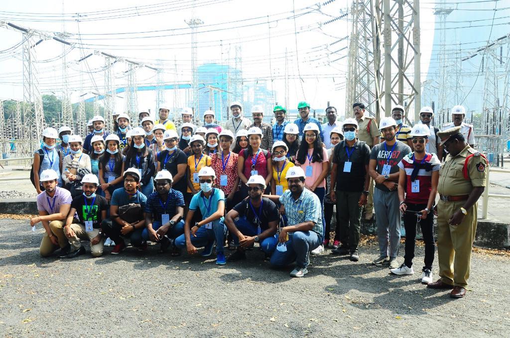 Visit of the Youth PIOs to Narla Tata Rao Tharmal Power Station, Ibrahimpatnam, Vijayawada during their State visit to Andhra Pradesh. #KnowIndiaProgramme #59thEdition