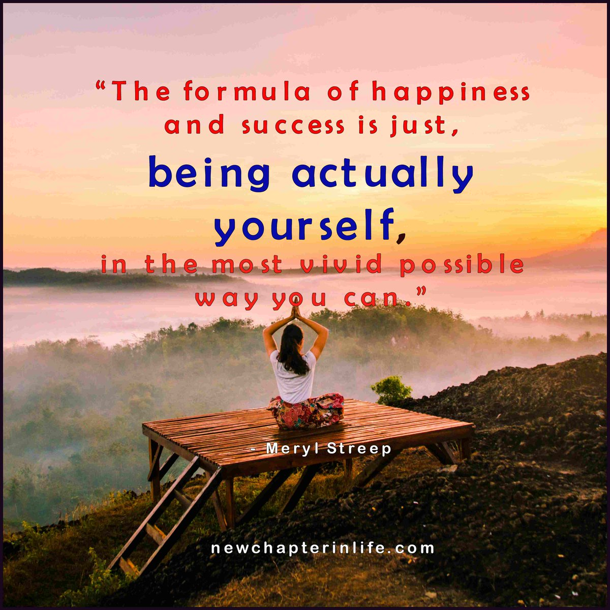 Just be yourself. #WednesdayWisdom #MotivationalQuote <br>http://pic.twitter.com/QbnANRJmaM