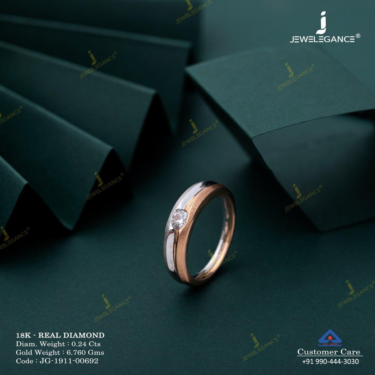 Make your love shine as diamond... . #Shop on: https://www.jewelegance.com/product-detail/3383… . #myjewelegance #goldjewellery #jewellery  #ring #goldring #engagementring #lastesttrend #ringoftheday #diamondring #lovefordiamonds #mensfashion #mensjewellerypic.twitter.com/rdD1Qr8JjD