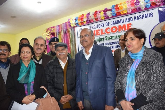 MoS  Human Resource GoI  S S Dhotre conducted a public outreach camp,at Kalakote. Minister informed that over 2.5 lakh toilet units have been constructed in the UT. inaugurated  T-road , 100 bedded Girls Hostel at Kalakote & 20,000 gallon capacity Reservoir at Chitta Pathar