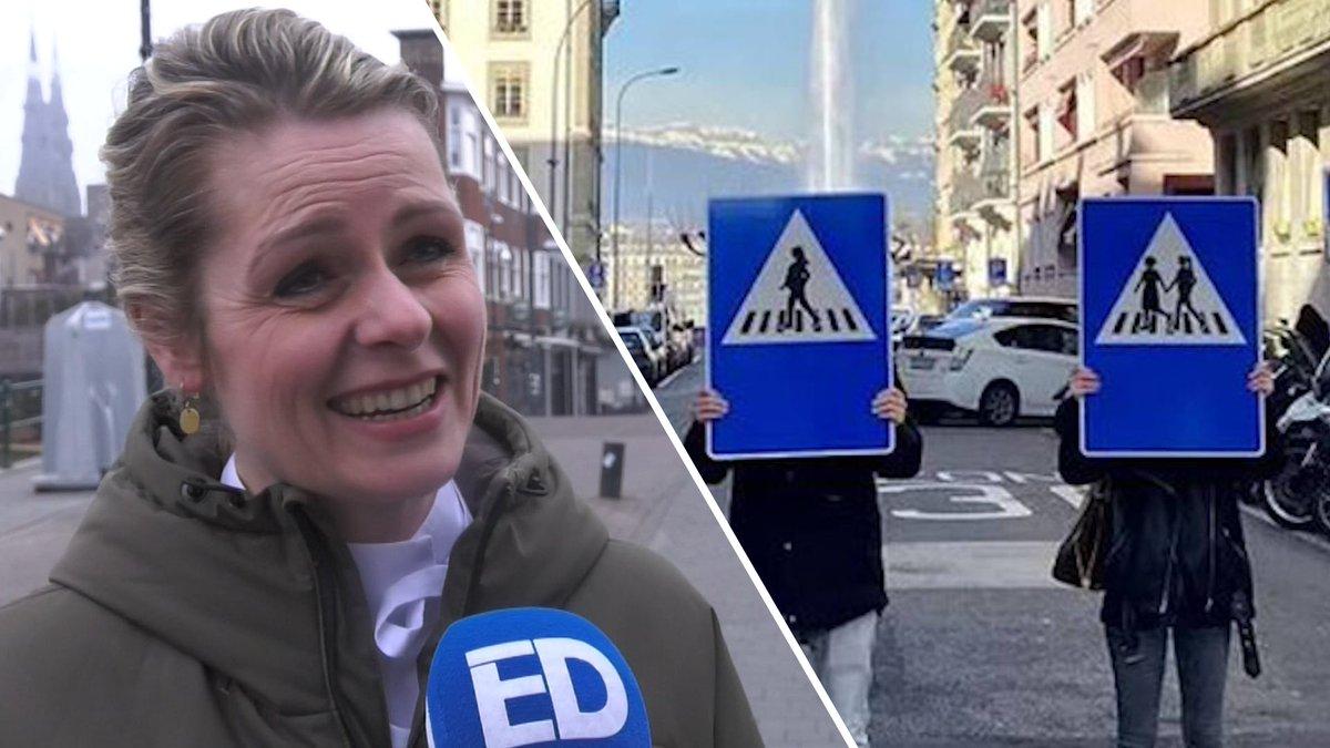 test Twitter Media - 🎥 Eindhovense PvdA wil graag aantal vrouwelijke verkeersborden in het straatbeeld invoeren https://t.co/7YRNbuLc6z https://t.co/Ut4pZIlN2p
