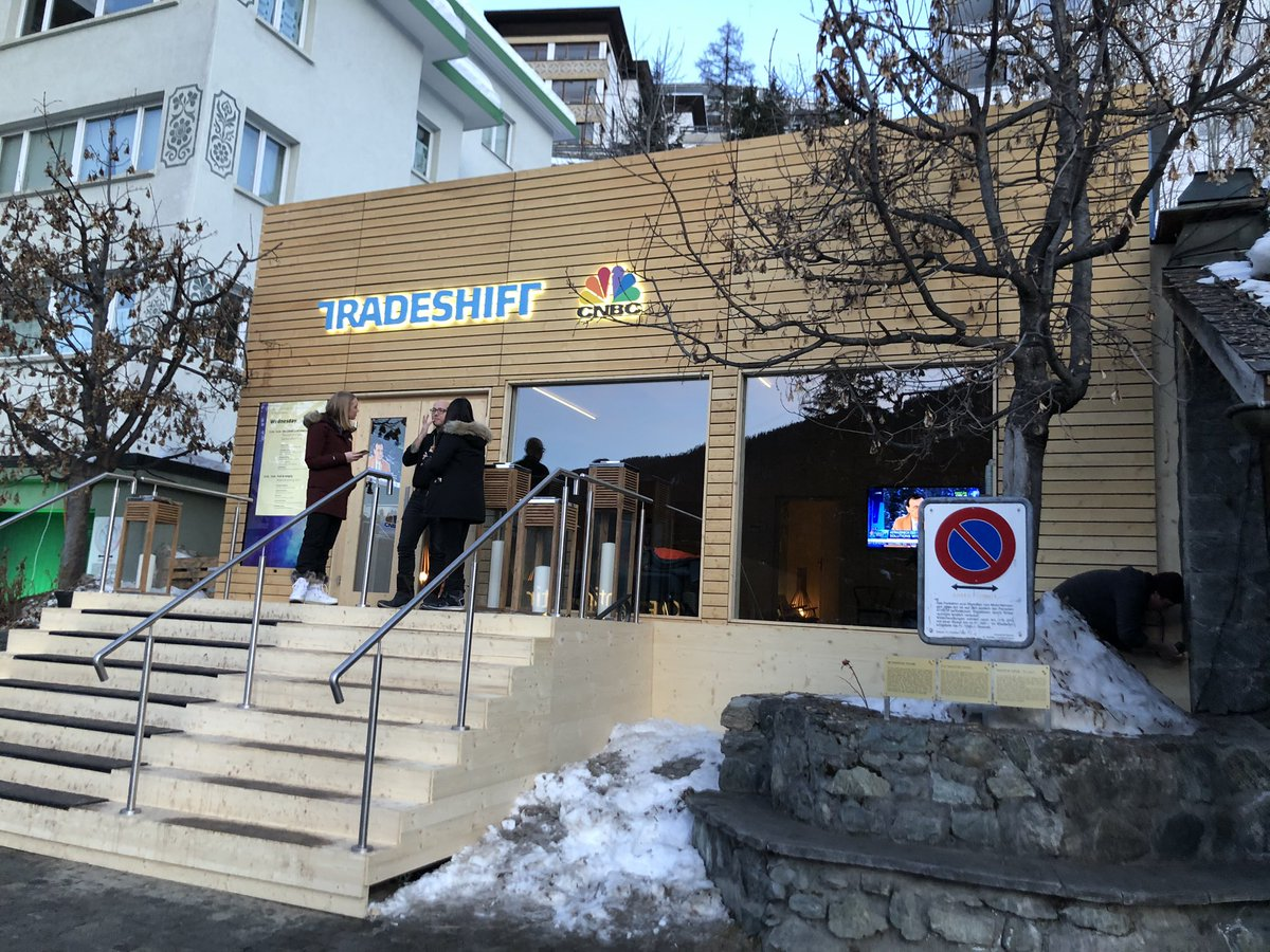 Day two of events at the CNBC Tradeshift Sanctuary. We talk Sustainable Solutions and much more. #excited #WEF20. See the full schedule of the week's events here: http://cnbcasia.com/events/wef20