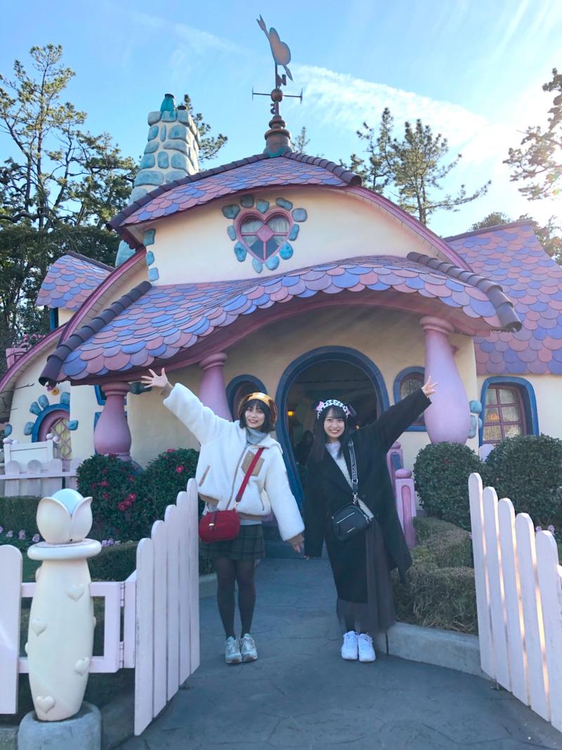 #HKT48 #豊永阿紀 さんが #渡部愛加里 さんと #ディズニーランド へ行ったことをブログで報告😆🐭✨🌟「実はふたりでのお出かけは初めて。幸せな思い出だった〜〜〜!!!」@aki_toyonaga@Akari_1018_@hkt48_official_ブログはこちら