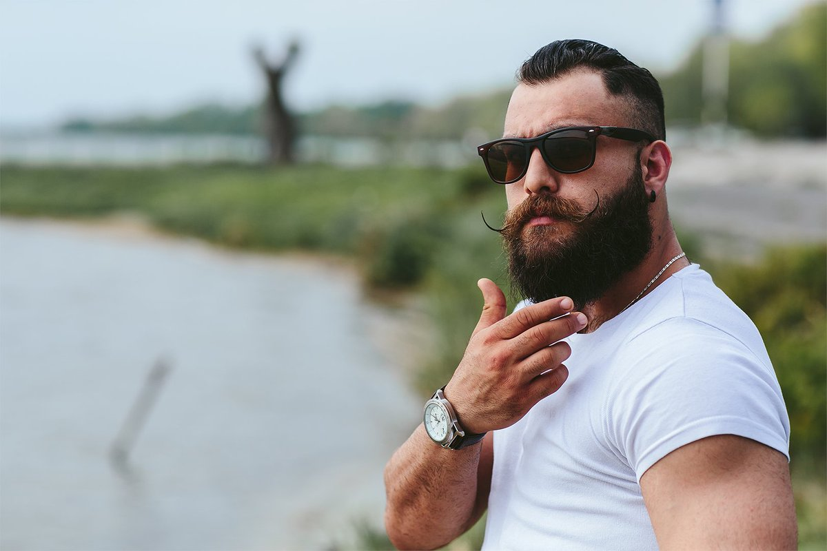 Growing a beard is not that easy. You want to know how?  Check this out at   #beard #bearded #barber #barbershop #beards #beardstyle #beardgang #gay #beardsofinstagram #barba #beardlife #haircut #barberlife #beardedmen #hair #style #bear #fashion #beardlove