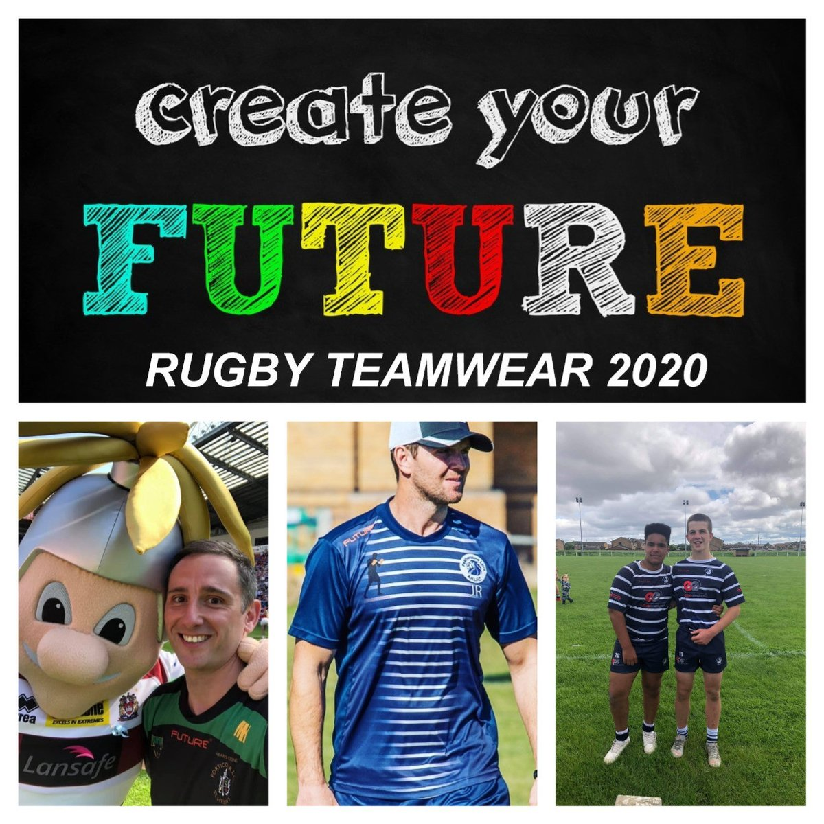 Rugby Teamwear 2020? Partner with Future and receive-3 weeks supply-no min reorders-club shop-self design ranges-affordable products-unrivalled services! #makeithappen <br>http://pic.twitter.com/EkclnsULWy