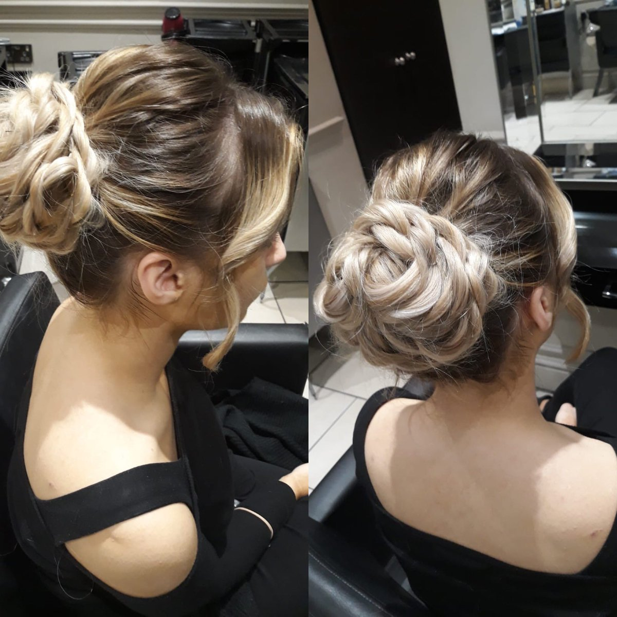 Party Hair By Mirela at  02077514527 #partyhair #hairup #blondehair #blondebayalage #hair #beauty #makeup #chelsea #kingsroadchelsea #london #laserhairremoval #electrolysis #massage