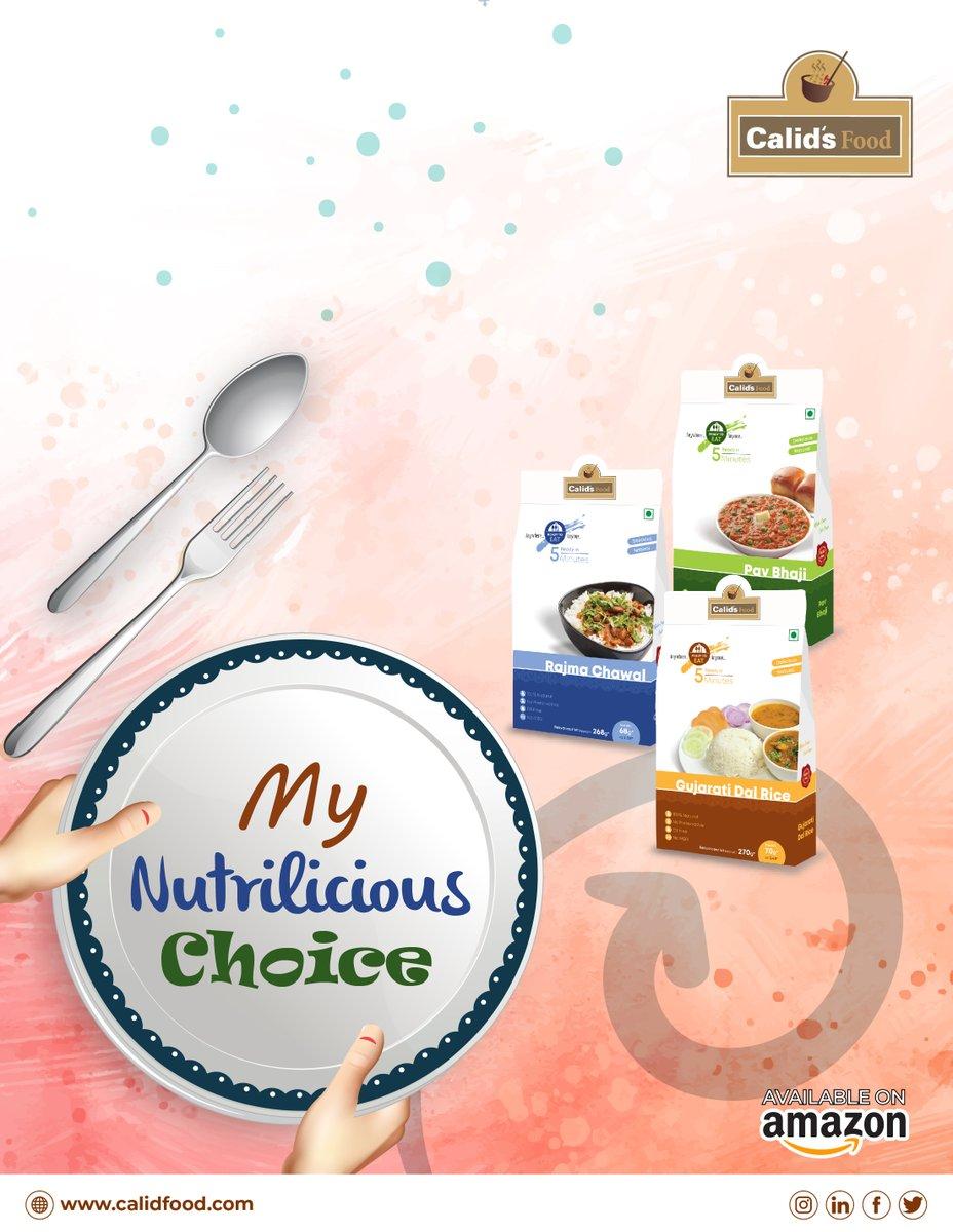 My Nutrilicious Choice👩🍳  📲Order now: https://amzn.to/2R6iD6b  #Calids #Calidsfood #food #Readyin5minutes #Instantfood #Readymadefood #testofgujarat #gujarat #pavbhaji #dalmakhani #paneer #paneerbhurji