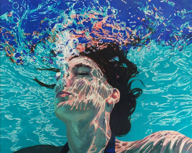 'Underwater Portraits' by contemporary US artist Samantha French #womensart <br>http://pic.twitter.com/OVMNwvcMMZ
