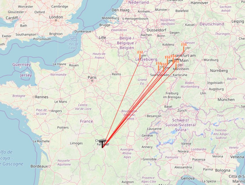 Light dab tropo this day to Luxembourg and Germany. A real beacon monitoring for vhf band. #dabradio #dxing #swl #radio #dx #tropopic.twitter.com/9n1IdgbqSx