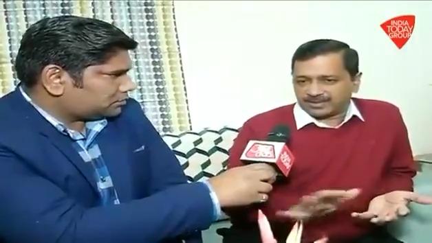 देखिए, दिल्ली चुनाव से लेकर #CAA के मुद्दे पर मुख्यमंत्री @ArvindKejriwal से 'आजतक' संवाददाता @PankajJainClick की Exclusive बातचीत। #ReporterDiary अन्य वीडियो: http://bit.ly/IndiaTodaySocial…