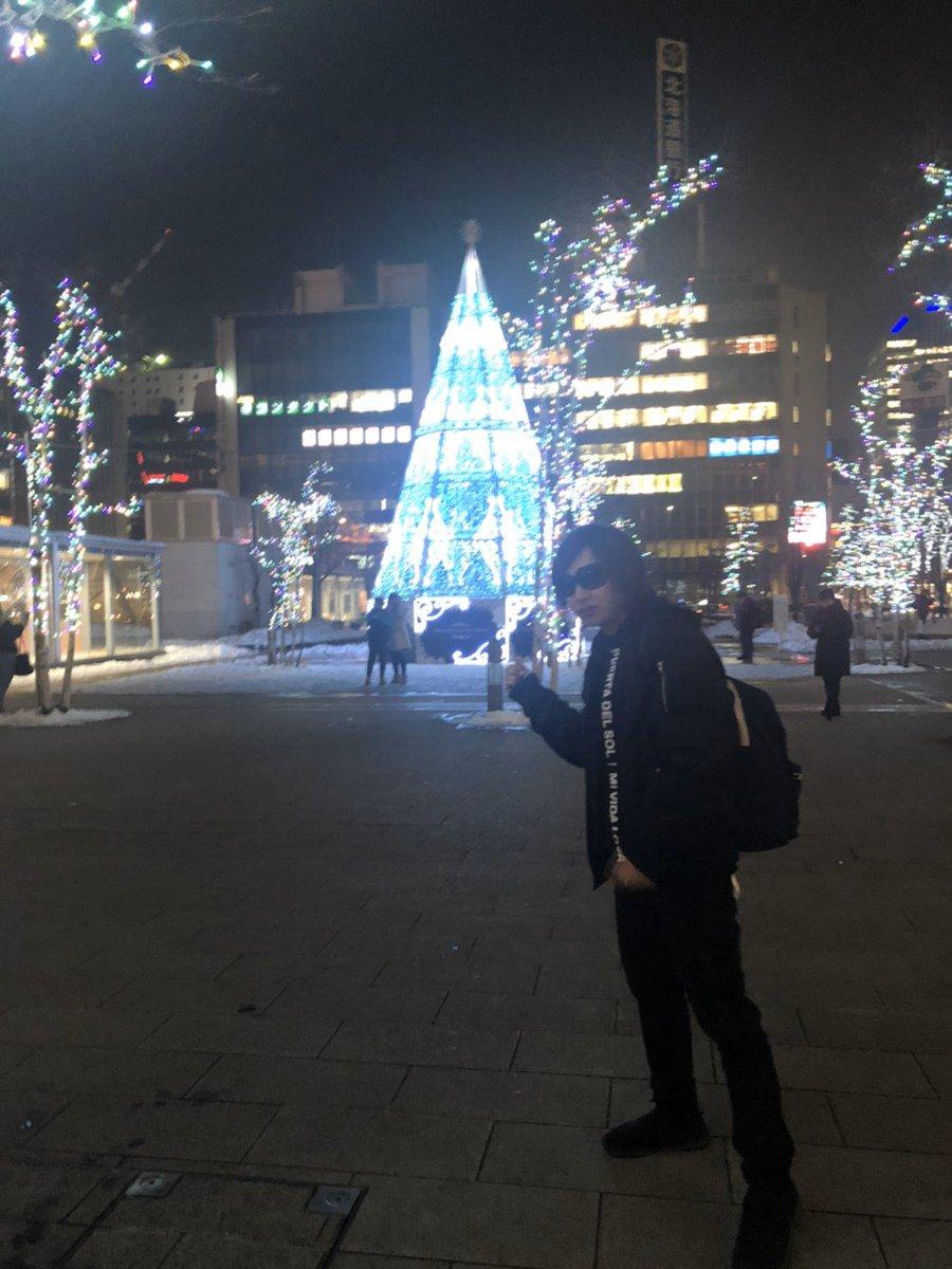 好きな景色は雪景色のみです#札幌駅