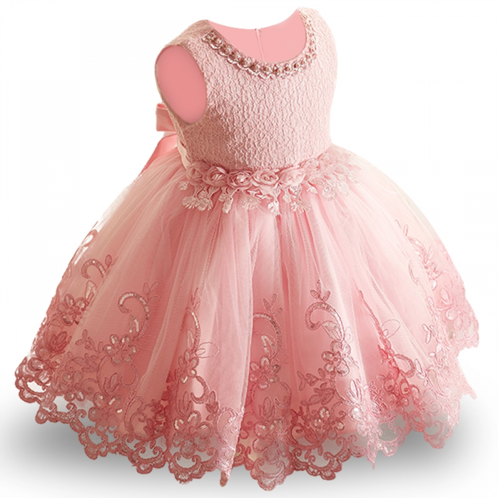 #food #tflers Baby Girl's Princess Lace Dress