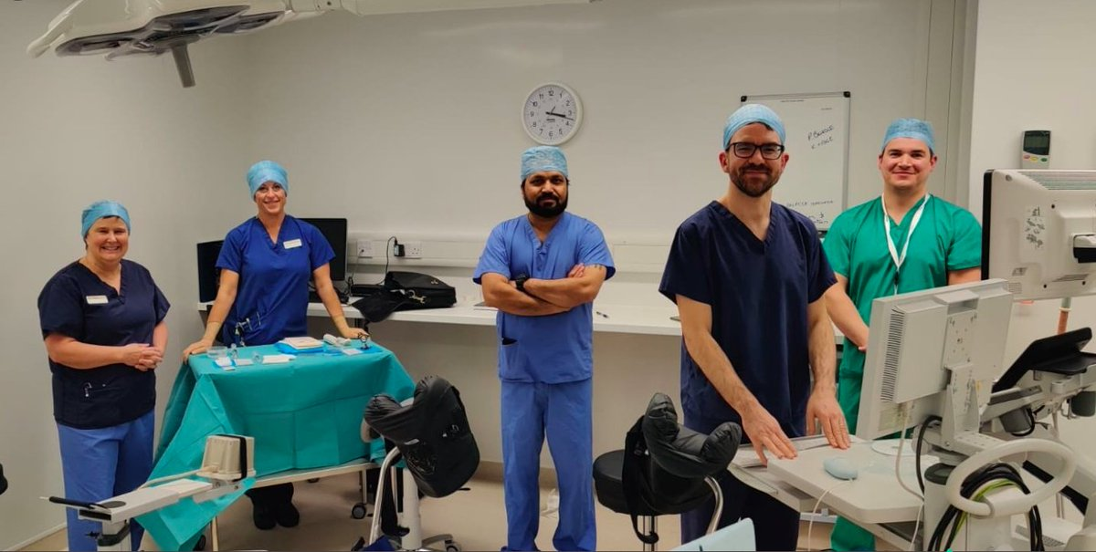Fusion targeted #LATPbiopsies using the #PrecisionPoint transperineal access device at Spire Hospital, Leeds, with Dr Oliver Hudson and the team!